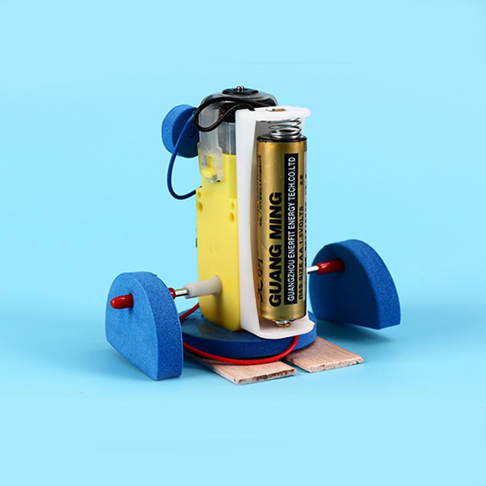 Bộ đồ chơi khoa học tự làm robot tự động chim cánh cụt bằng gỗ – DIY Wood Steam