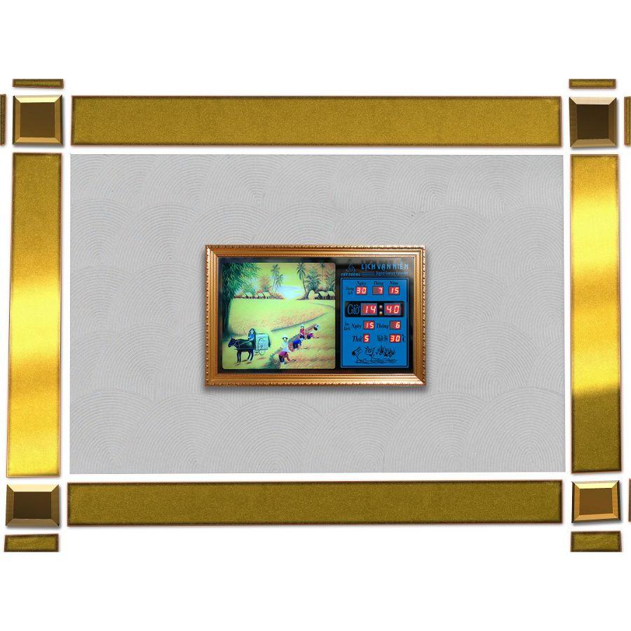 Đồng hồ lịch vạn niên Cát Tường 55444