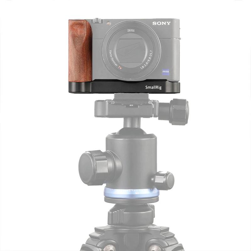 Phụ Kiện Máy Quay Smallrig L-Shape Wooden Grip For Sony RX100 III IV V VA 2248 - Hàng Nhập Khẩu