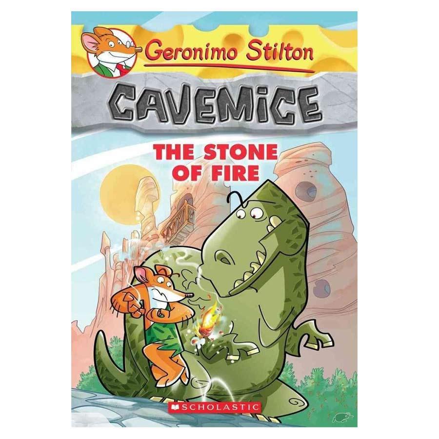 Geronimo Stilton Cavemice 01: The Stone Of Fire