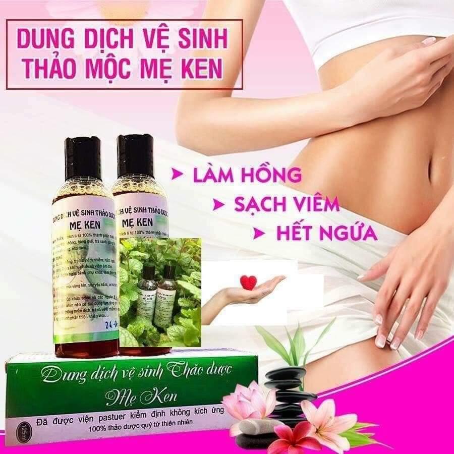 Dung dịch vệ sinh thảo mộc Mẹ Ken-Chai 100ml