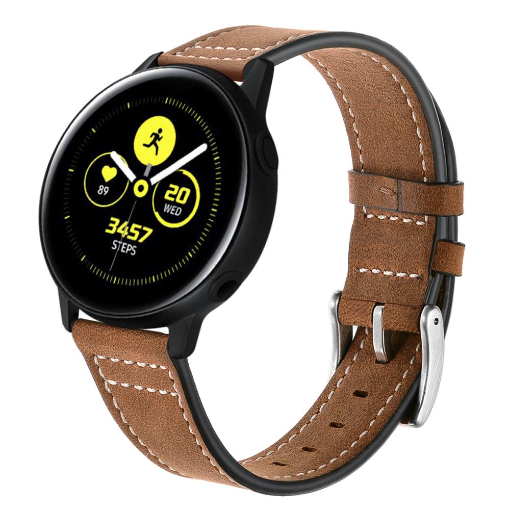 Dây Da Classic 2 Size 20mm cho Galaxy Watch 3 41mm, Galaxy Watch Active 2, Galaxy Watch 42
