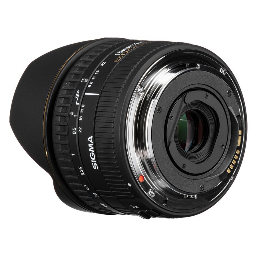 Ống Kính Sigma 15 F/2.8 EX DG FISHEYE DIAGONAL For Canon - Hàng Chính Hãng