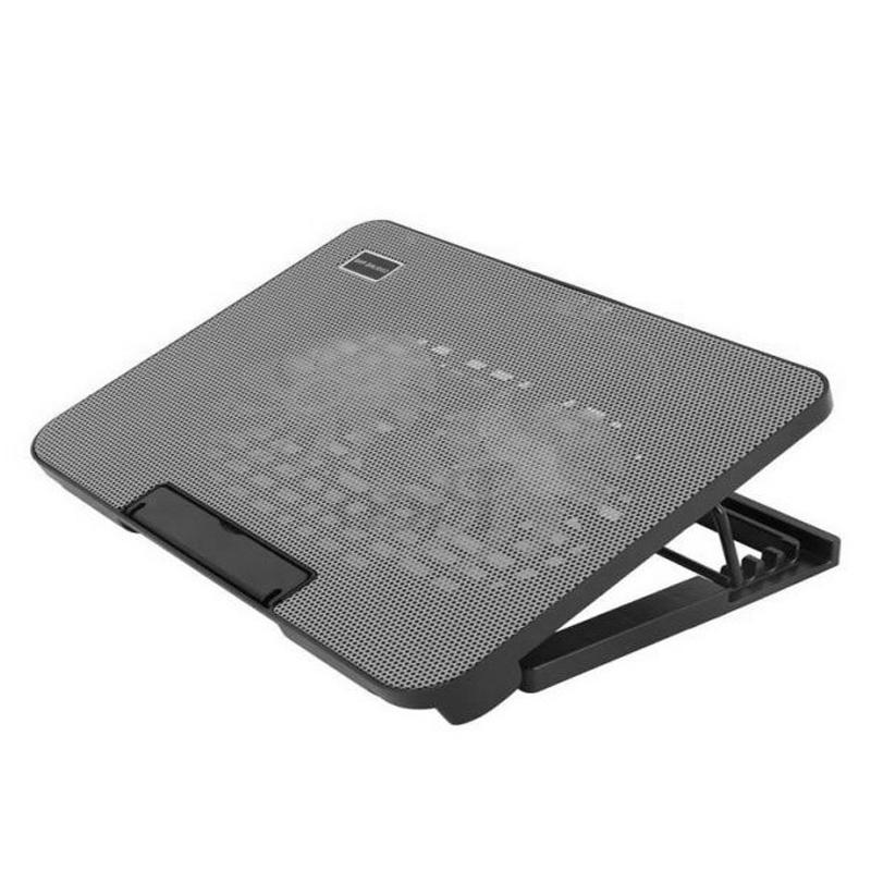 Đế tản nhiệt laptop N99 2 quạt đế nâng - Hàng nhập khẩu