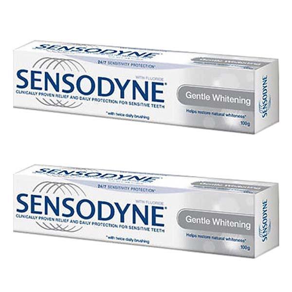Combo 2 Sensodyne Gentle Whitening - giúp làm trắng răng tự nhiên