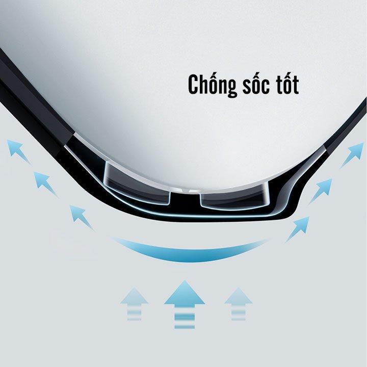 Bao case silicon chống sốcsiêu mỏng cho tai nghe Apple Airpods Pro hiệu XUNDD Drop Resistant(Thiết kế siêu mỏng, kiểu dáng viền màu, bảo vệ chắc chắn) - Hàng nhập khẩu
