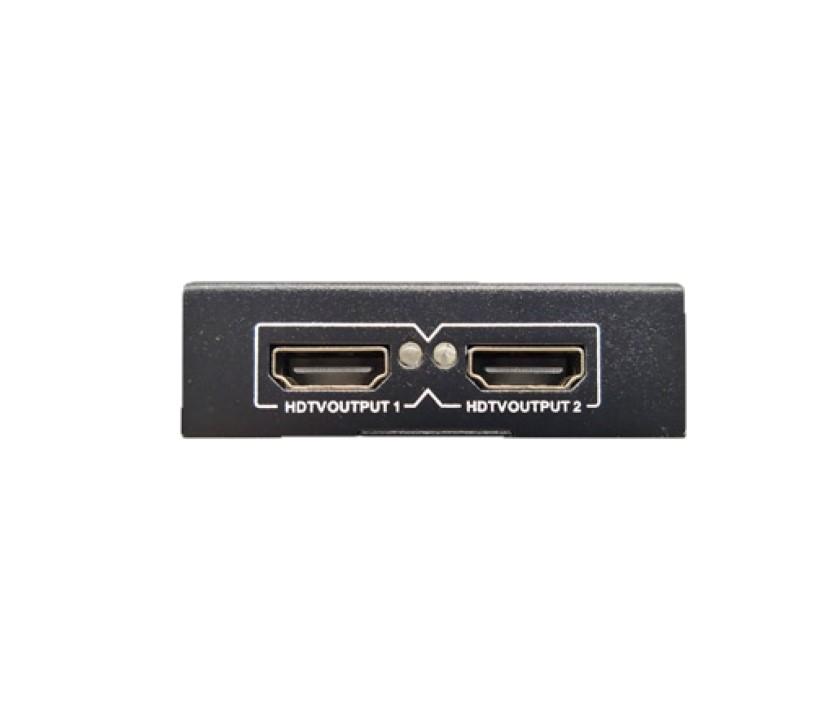 Bộ chia tín hiệu HDMI SPLITTER -4K-Utra HD 1 ra 2 HDMI - Hàng Chính Hãng