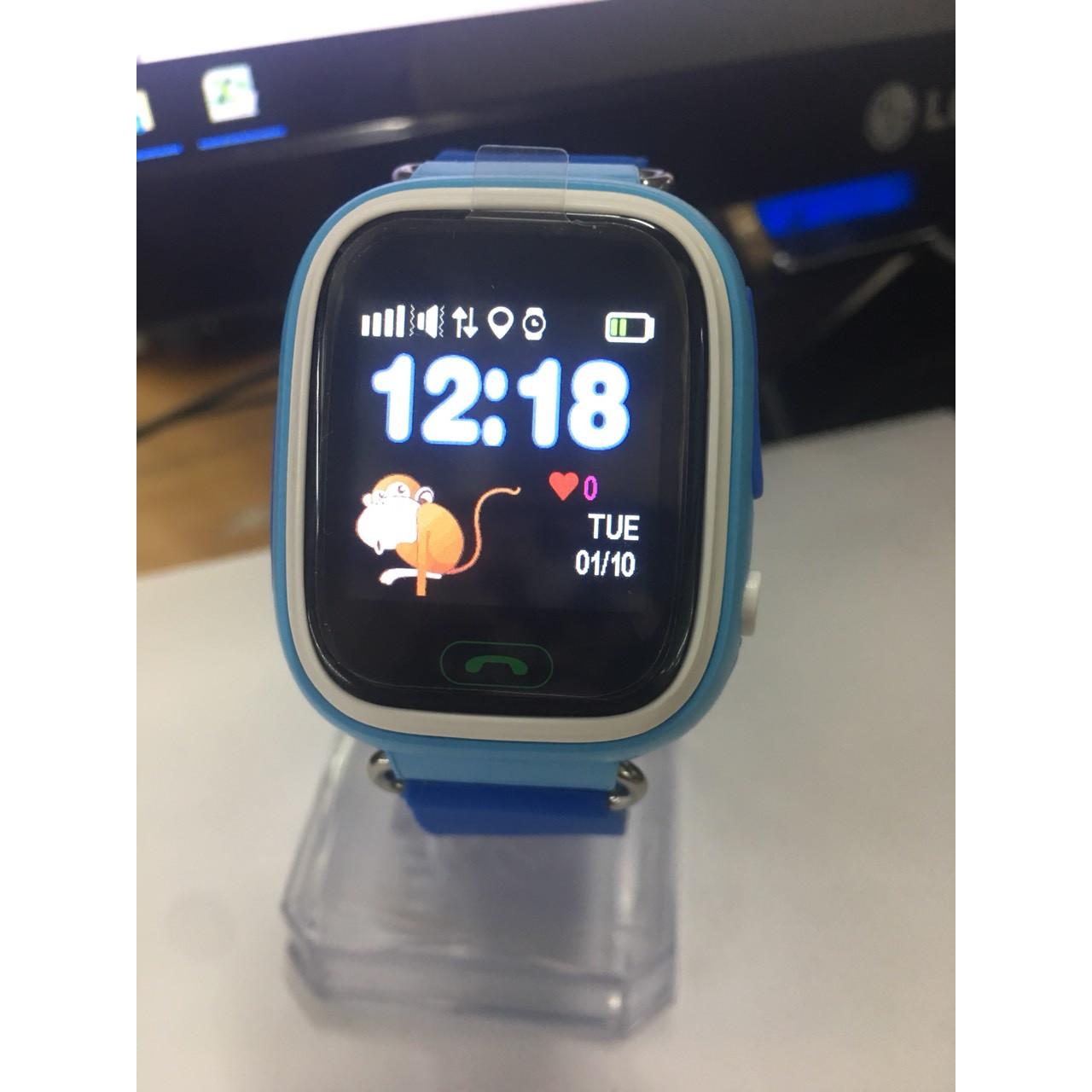 Đồng hồ định vị trẻ em V8-04 xanh