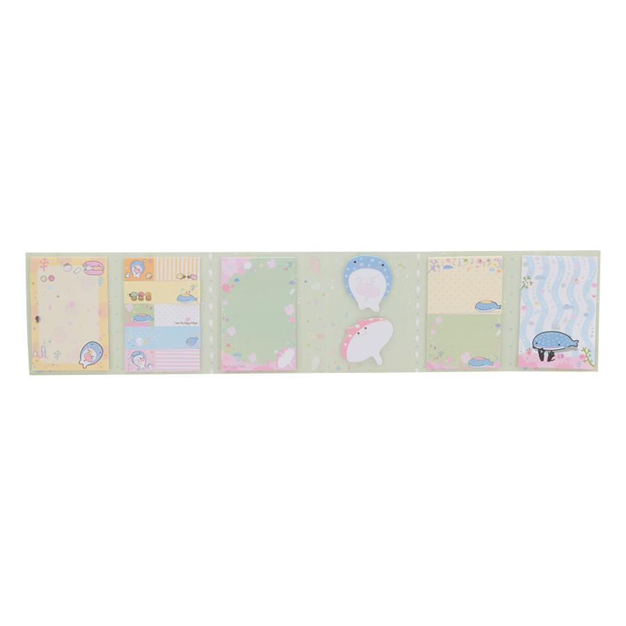 Tập Giấy Uyên Loan Note 6 Loại - Mẫu Ngẫu Nhiên