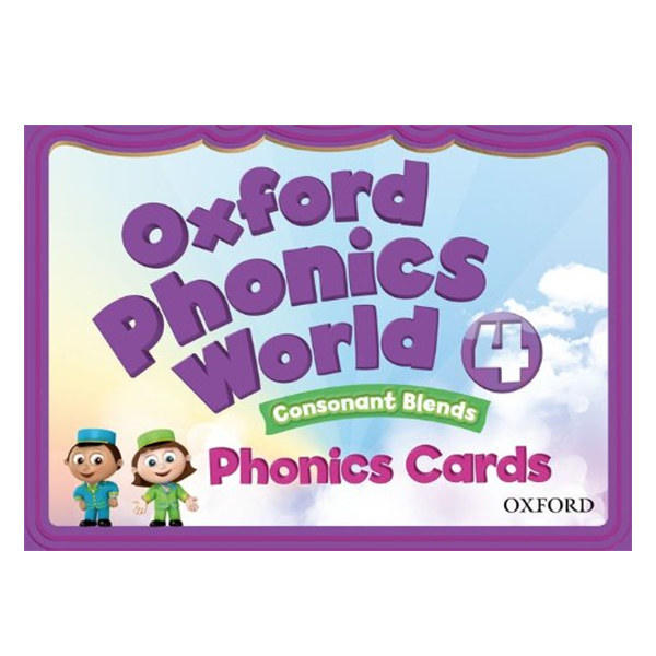 Oxford Phonics World Level 4 Phonics Cards
