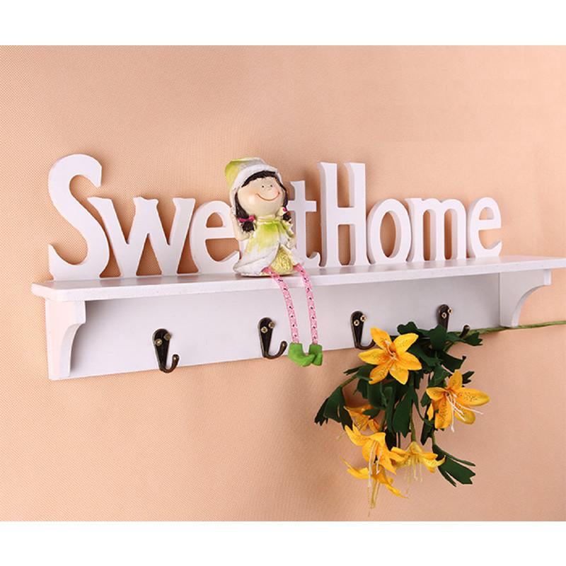 Kệ Trang Trí Nhà Cửa Sweet Màu Trắng Kem