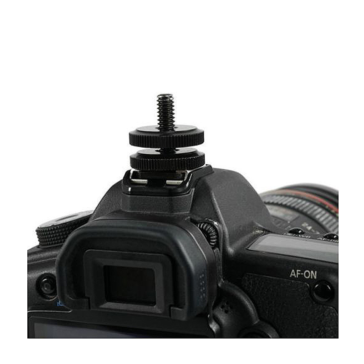 Mount gắn GoPro Hero lên chân hot shoe máy ảnh