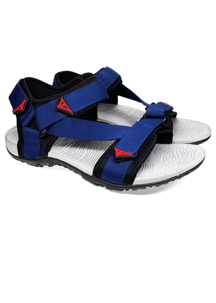 Giày sandal nam Việt Thủy quai ngang VT02 - xanh dương