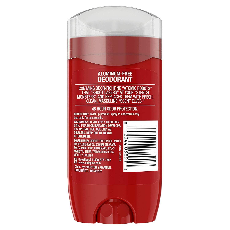 Lăn khử mùi Old Spice High Edurance Pure Sport 85g ( nắp trắng )
