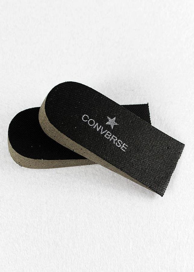 Combo 3 Bộ lót giày tăng chiều cao mút xốp Nửa bàn (2.5 cm, Màu Đen)