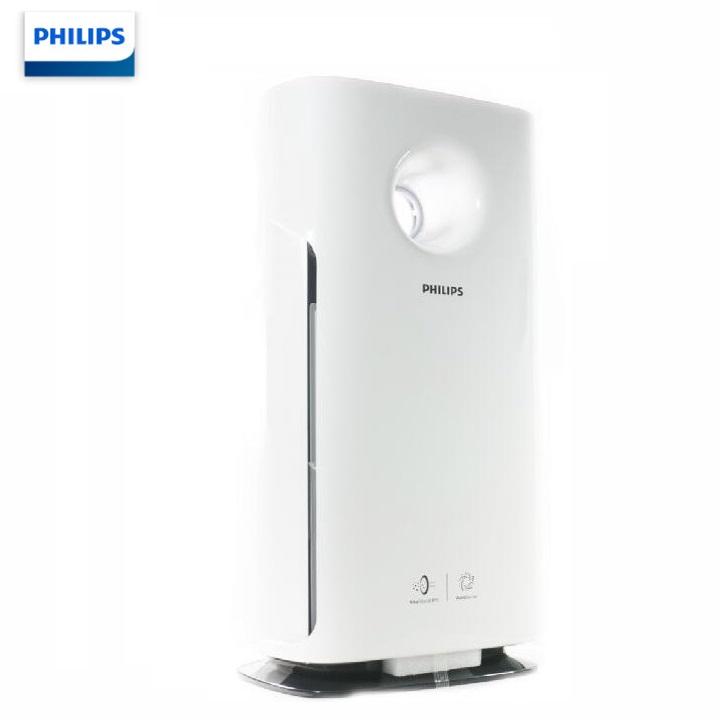 Máy lọc không khí cao cấp Philips AC3256/00 Cảm biến thông minh AeraSense 4 màu chất lượng không khí - Hàng Chính Hãng