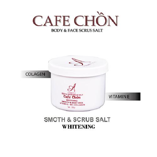 Muối Tẩy Tế Bào Chết Cafe Chồn A Cosmetics ( Body & Face Scrub Salt )