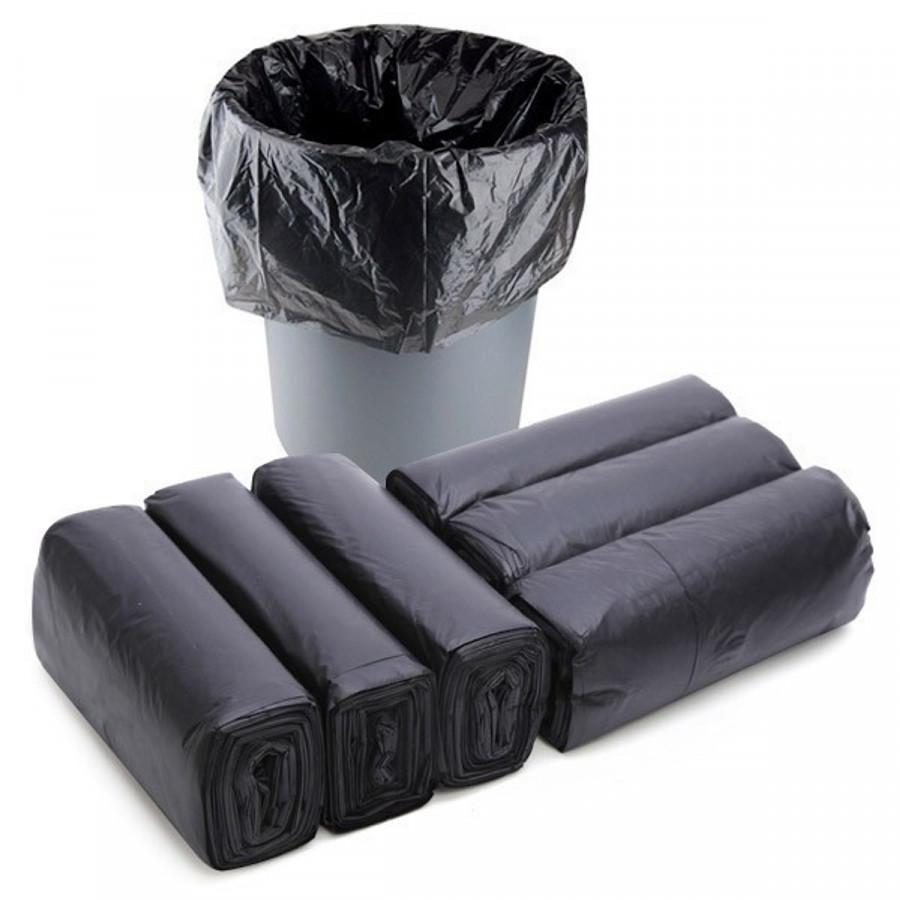 Túi đựng rác màu đen, size tiểu 45 x 55 cm