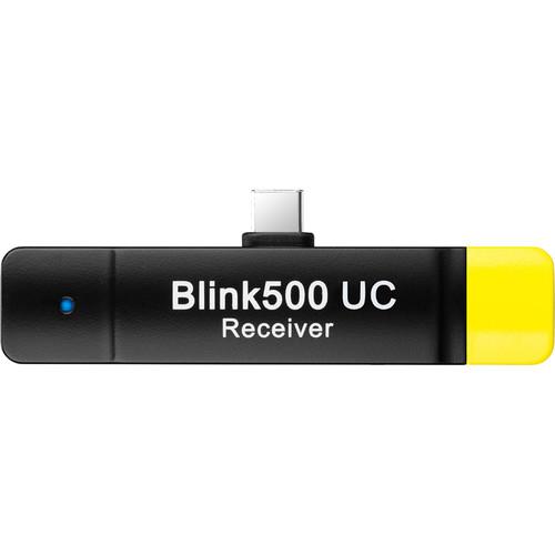 Phụ Kiện Âm Thanh | Bộ thu không dây kỹ thuật số hai kênh Saramonic Blink 500 RXUC cho các thiết bị USB Type-C (2,4 GHz) - Hàng Chính Hãng