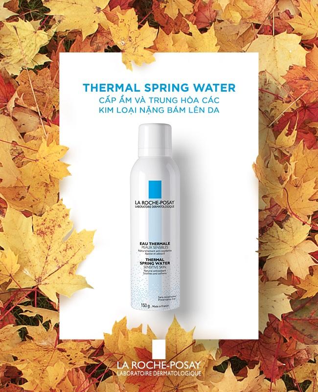 Xịt Khoáng Làm Dịu Và Bảo Vệ Da La Roche-Posay Thermal Spring Water (300ml)  - TẶNG MÓC KHÓA