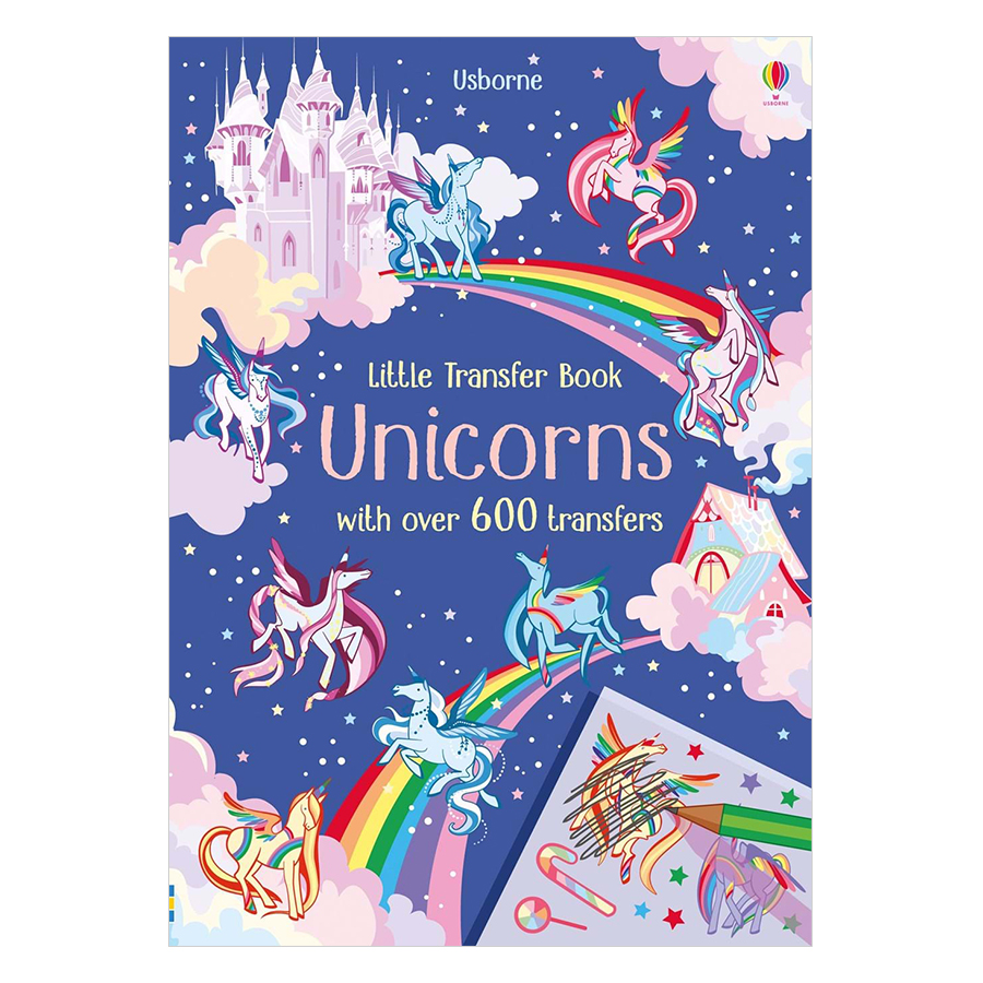 Usborne Little Transfer Book: Unicorns