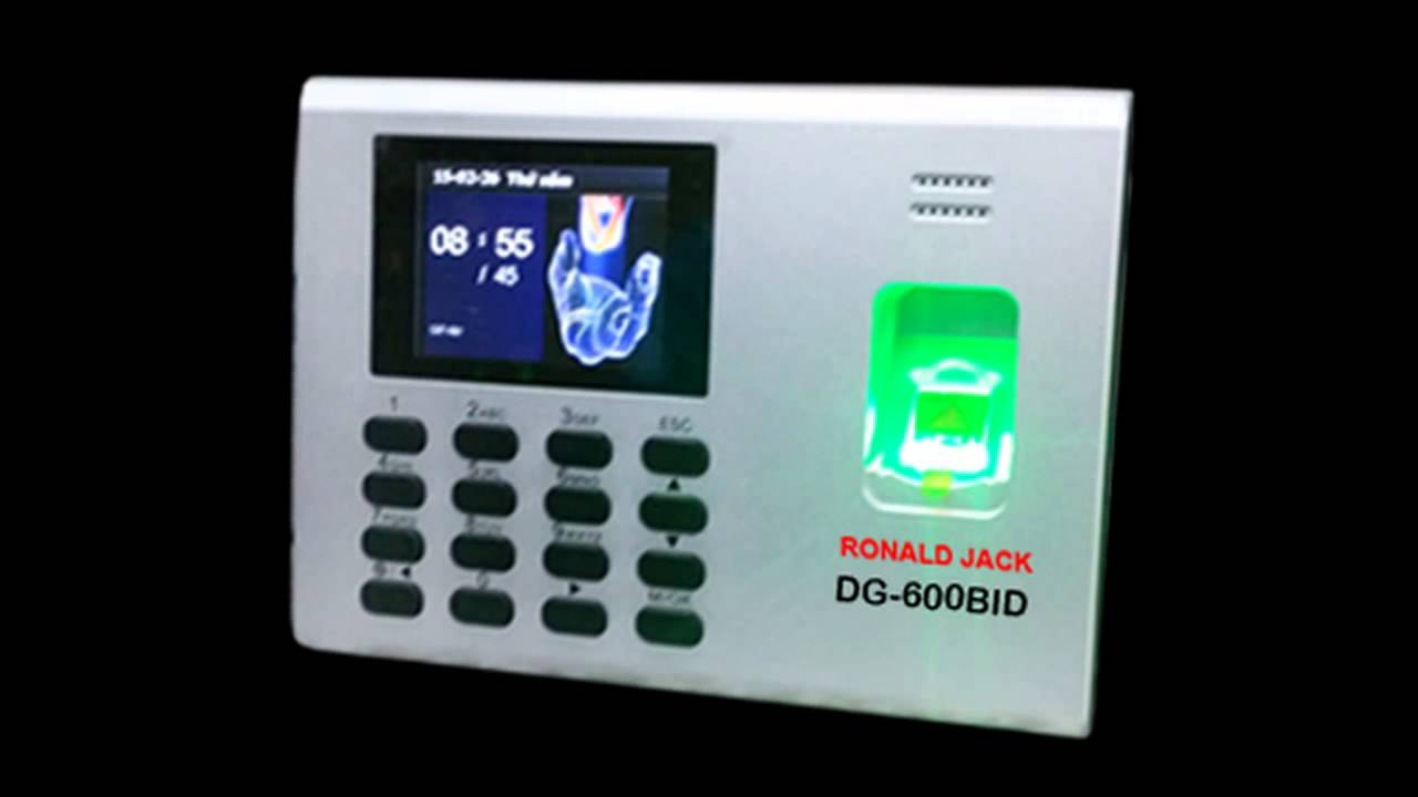 Máy chấm công Ronald Jack DG-800BID - Hàng chính hãng