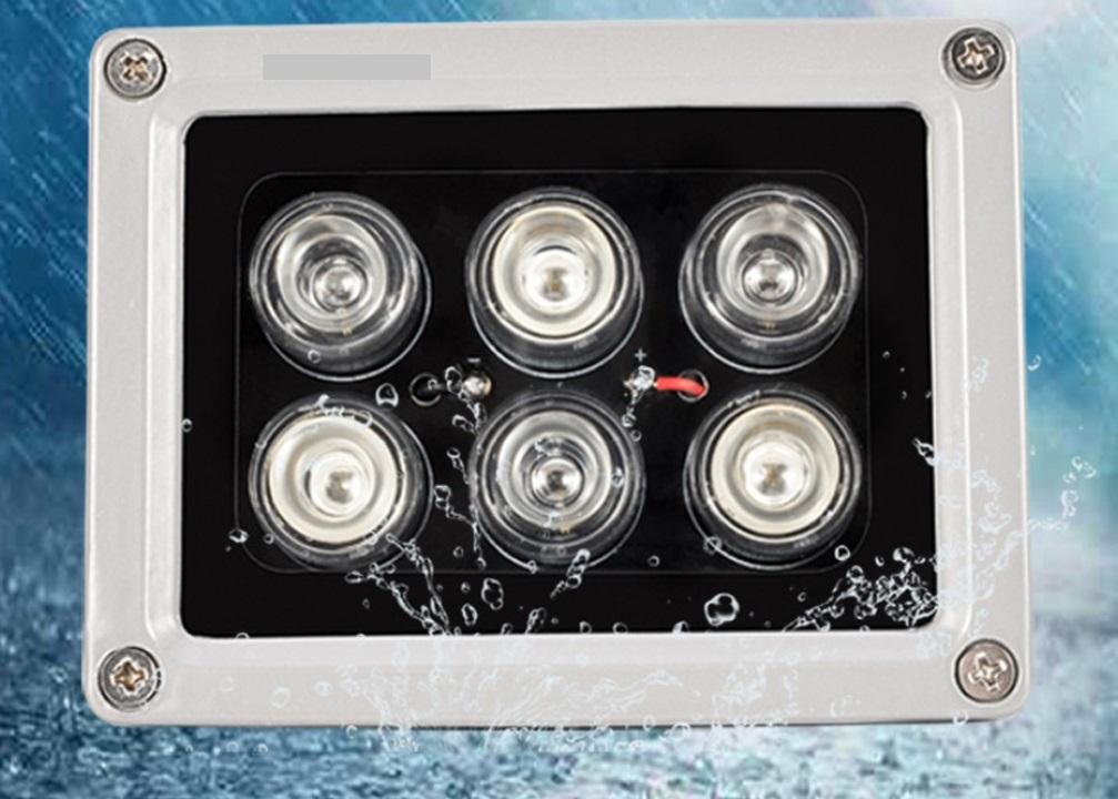 Đèn led Hồng Ngoại Cho Camera S6T- Tặng nguồn 12v