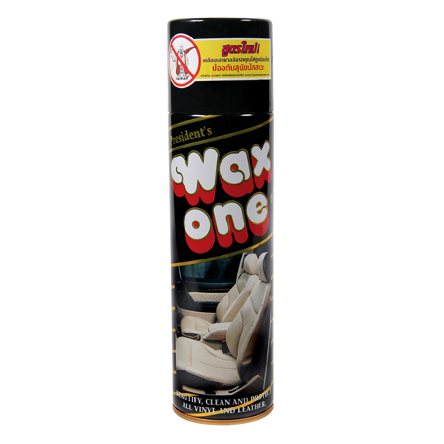 Chai Xịt Đánh Bóng Da Cao Cấp Wax One (450ml)