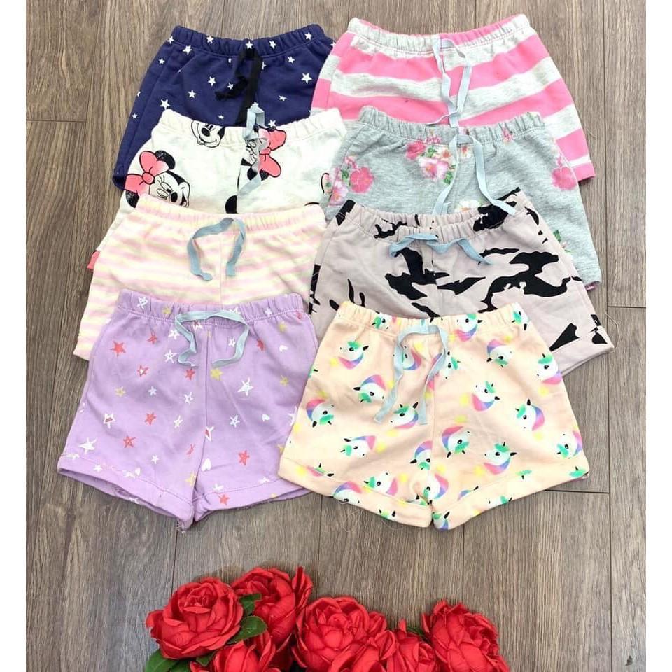 quần da cá bé gái