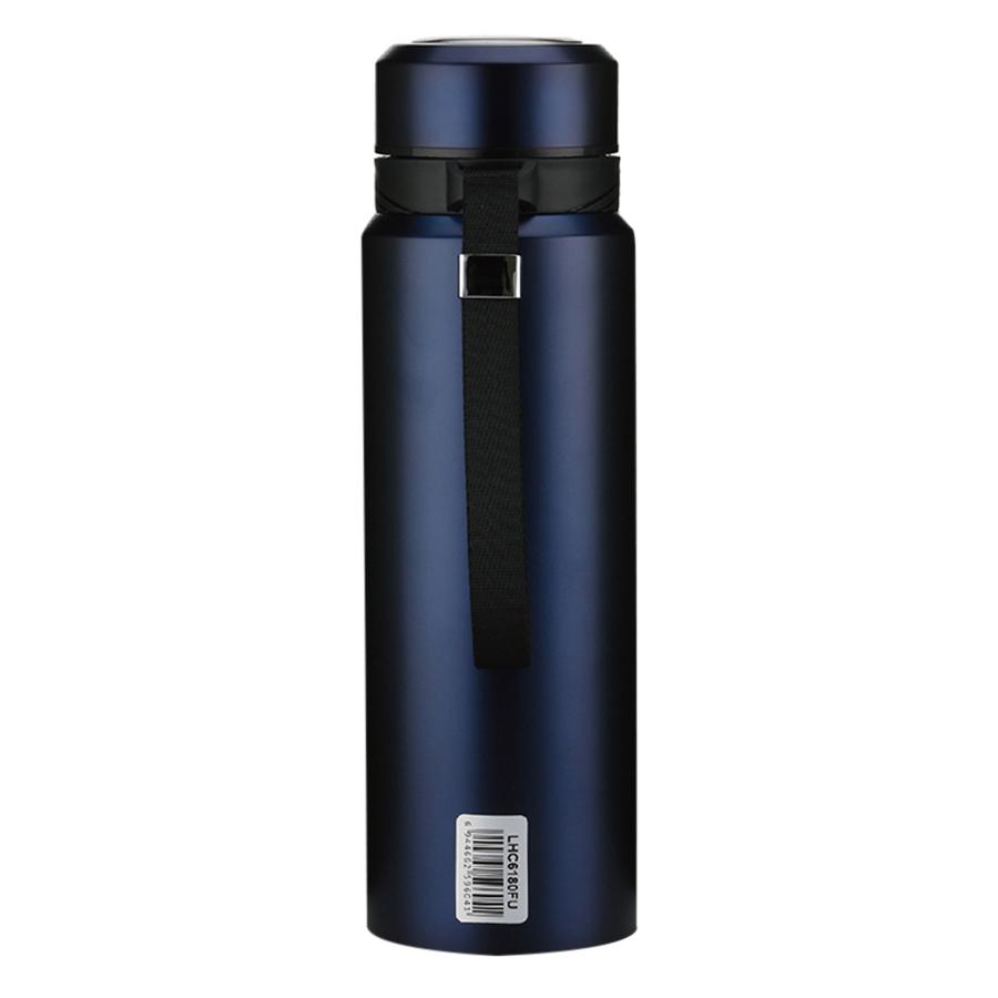Bình Giữ Nhiệt Thép Không Gỉ Vacuum Bottle Lock&Lock LHC6180FU (800ml) - Xanh Đậm