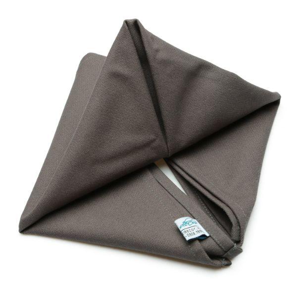 Combo 5 Cái Khăn Ăn Dark Brown Napkin 45x45cm (Nâu)