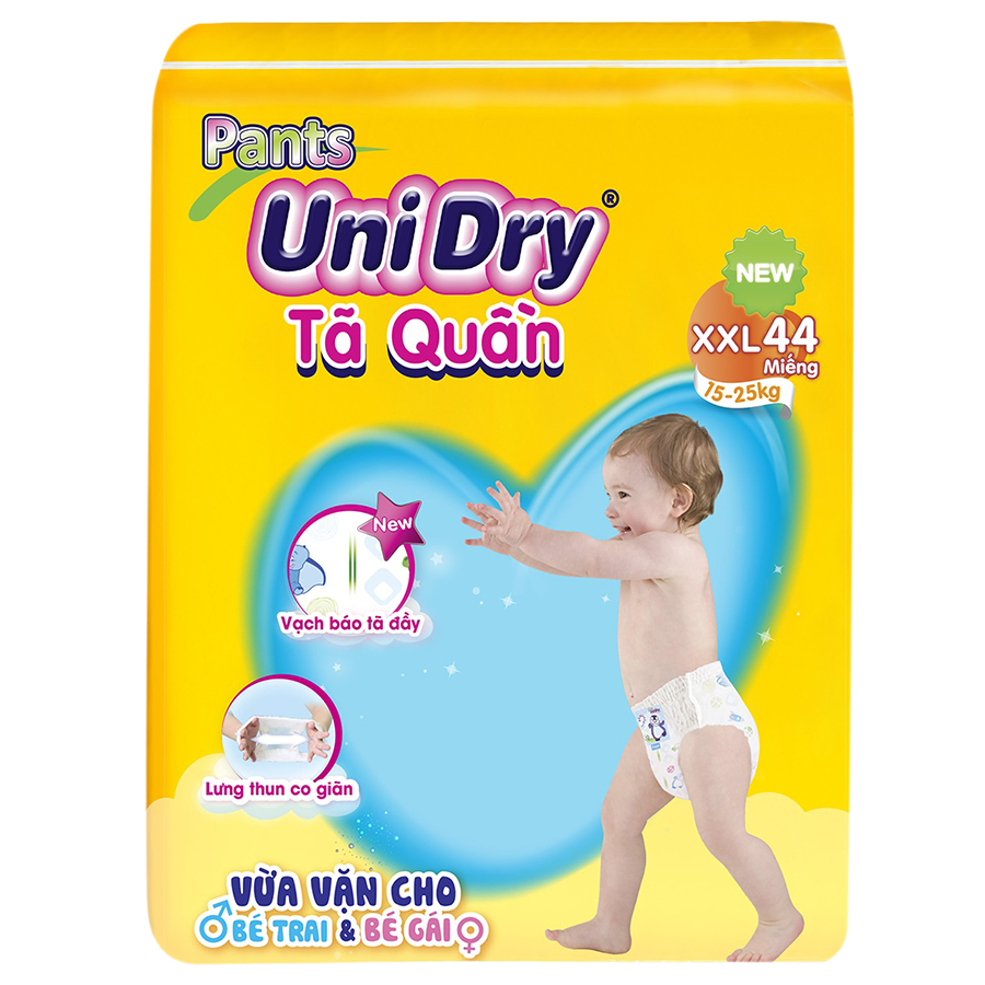 Tã Quần Unidry Ultra Jumbo XXL44 44 Miếng