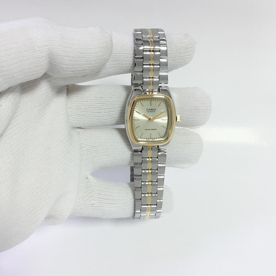 Đồng hồ Casio nữ dây thép LTP-1169G-9ARDF (25mm)