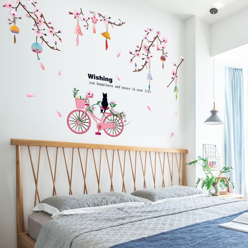 Decal giấy dán tường Wishing SK9357