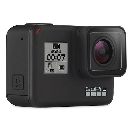 GoPro Hero 7 Black + Thẻ Nhớ 64GB Quay 4K + Bộ Full 20 Loại Phụ Kiện - Hàng Nhập Khẩu