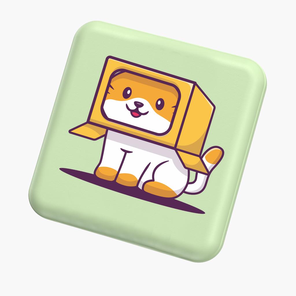 Pin sạc dự phòng Yoobao M4 mini dễ thương hài hước 10000mAh Pin Li-Polymer cho điện thoại, máy tính bảng - Hàng chính hãng