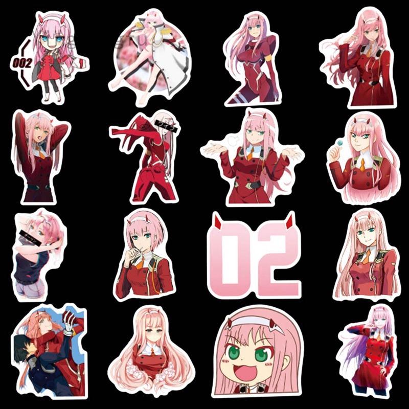 Set 60 Sticker Darling In The FranXX