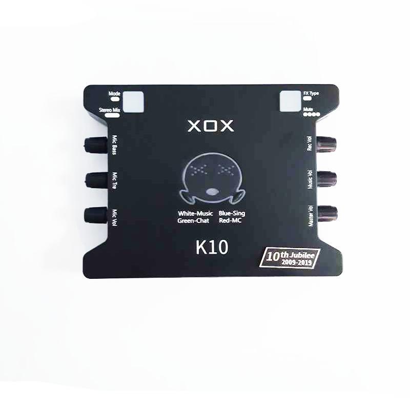 Soundcard hát karaoke online XOX K10 10th Jubilee - Hàng chính hãng