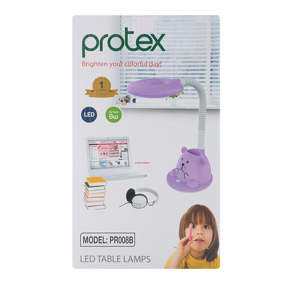 Đèn Bàn Chống Cận Thị Protex Model LED tròn PR008B - Hàng Chính Hãng