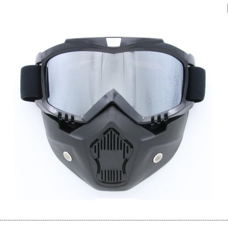 mặt nạ chắn gió bụi đi xe máy