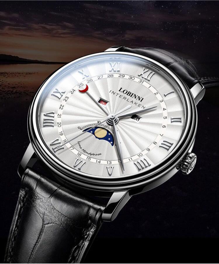 Đồng hồ nam chính hãng LOBINNI L3603-2