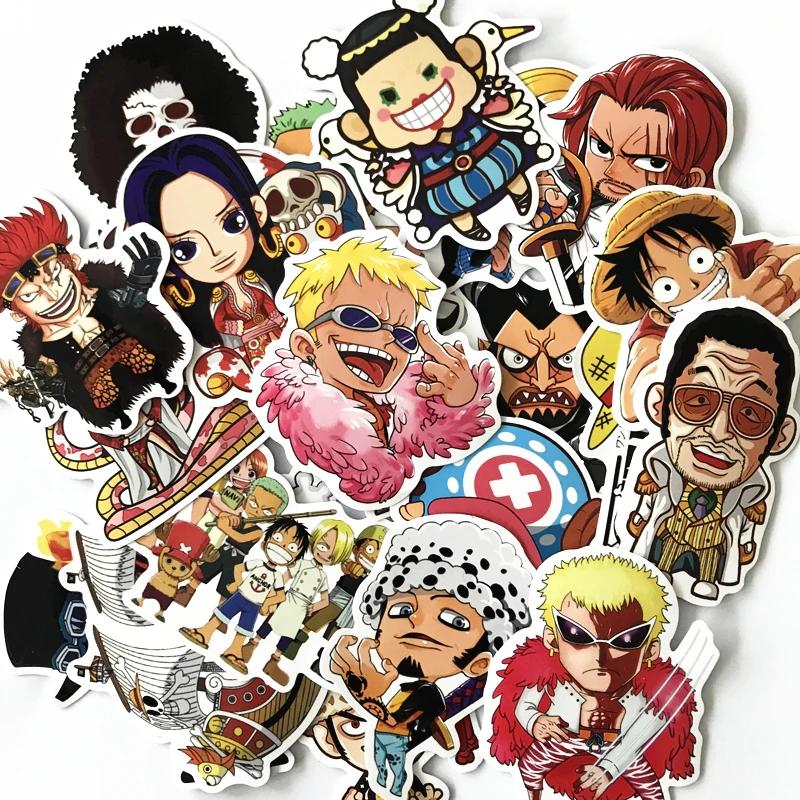 Decal dán tường trang trí các nhân vật hoạt hình sticker trong One Piece (Đảo Hải Tặc) - Hàng Chính Hãng