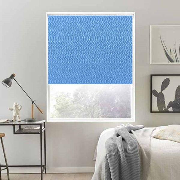 Rèm cuốn cao cấp nguyên bản - ngang|rộng cố định 1.8m - nguyên thanh treo - mã vải MC203