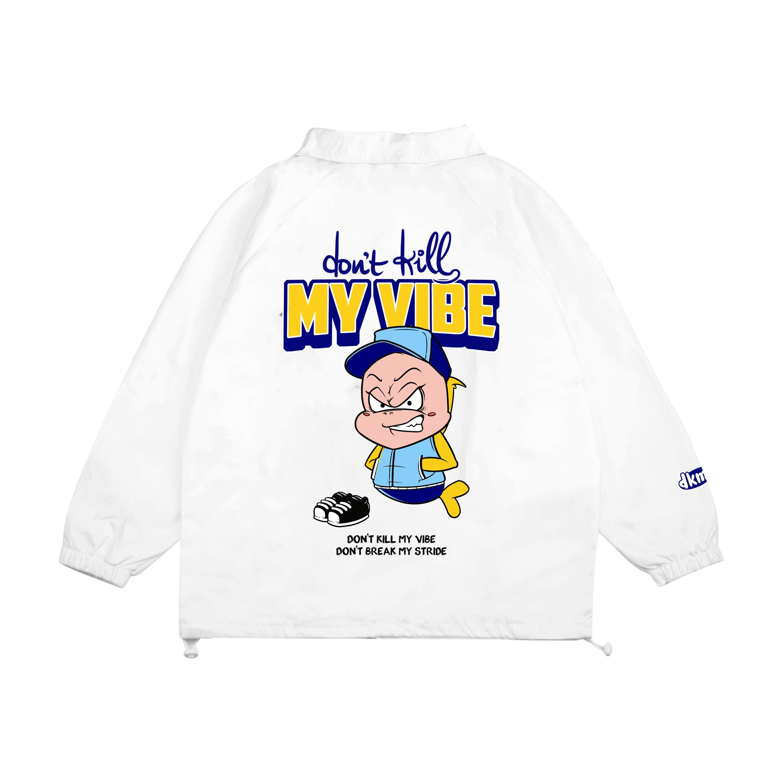 DKMV Jacket Baseball - White