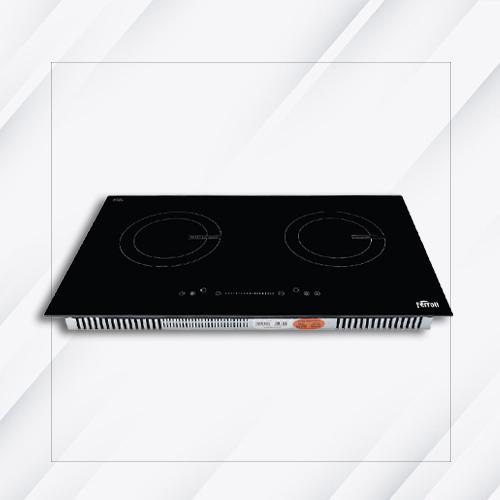 Bếp từ đôi Ferroli ID4000BS mặt kính Schott Ceran - Hàng chính hãng
