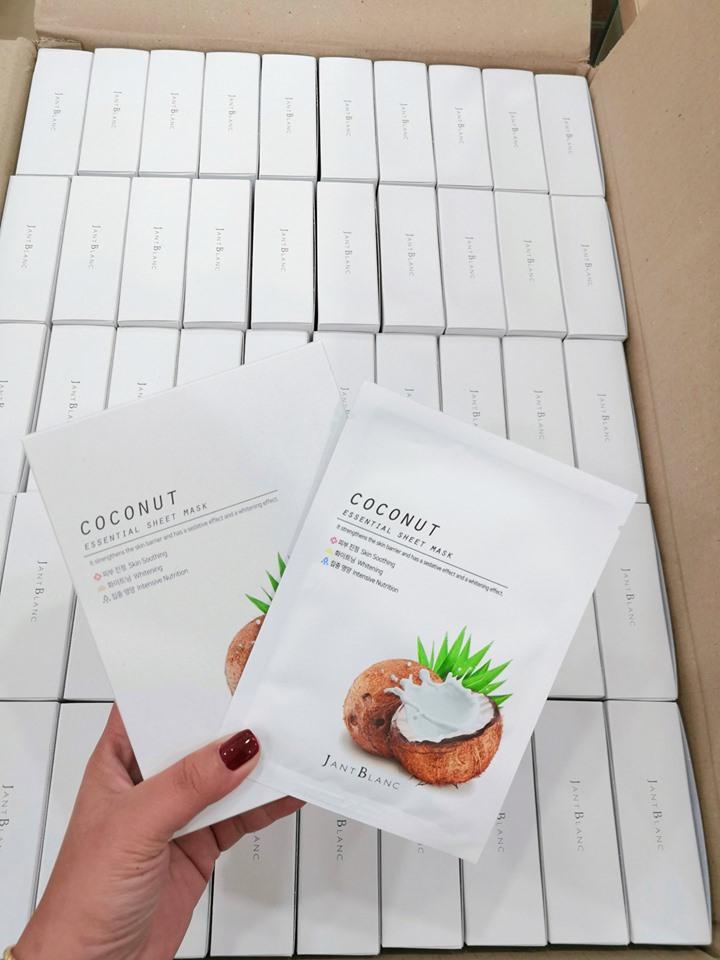 Combo serum dưỡng ẩm ốc sên Ecotop 50ml+ Kem chống nắng collagen hằng ngày SPF50+ Ecotop 70ml (Tặng 1 hộp mặt nạ Jant Blanc 10 miếng)
