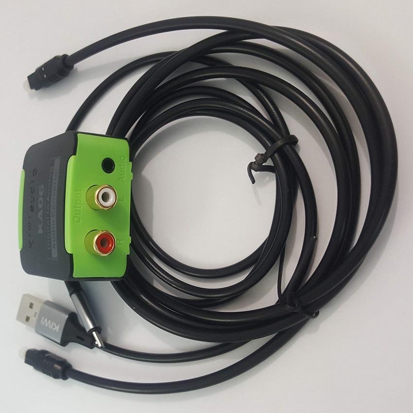 Bộ chuyển âm thanh TV 4K quang optical sang audio AV ra amply KA06-Chính hãng