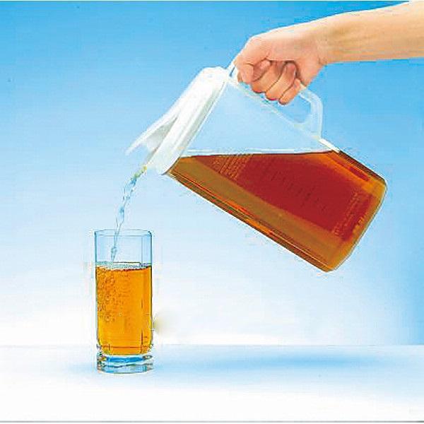 Bộ 2 bình đựng nước nắp ấn thông minh tiện sử dụng - Hàng nội địa Nhật