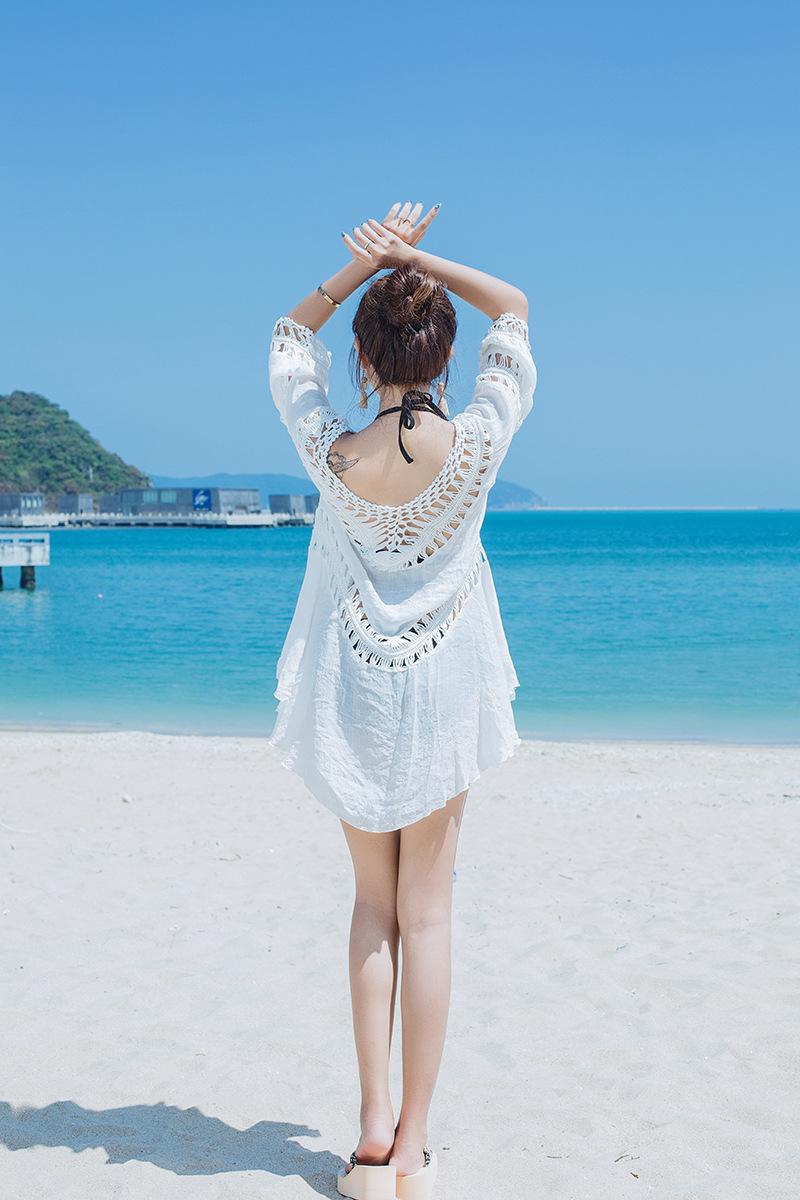 Áo ren lưới thời trang đi biển
