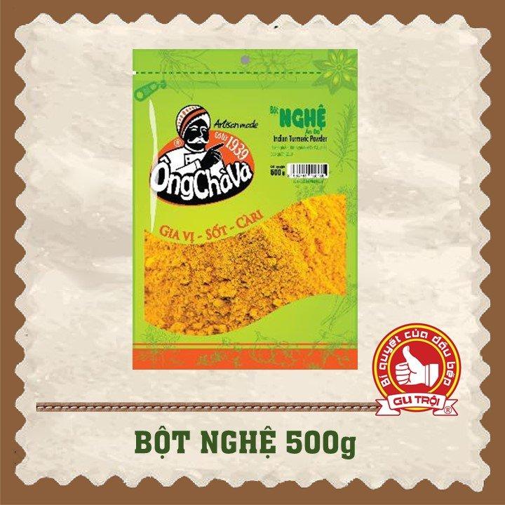 Bột Nghệ Ấn Độ Ông Chà Và 500gr - Loại 1 (Tumeric Powder Grade 1)